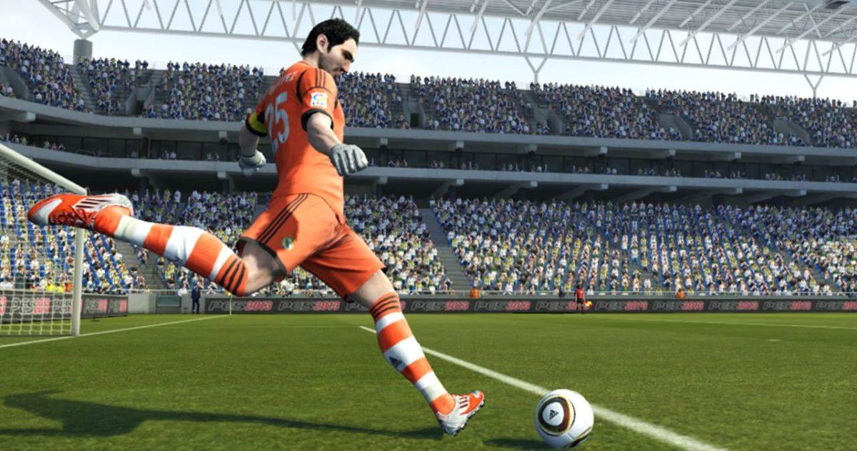 pes goal kick