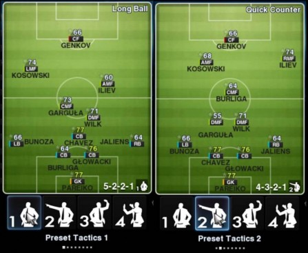 pes master league formation