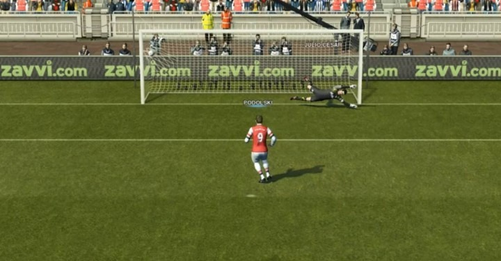 pro evolution soccer penalty tutorial