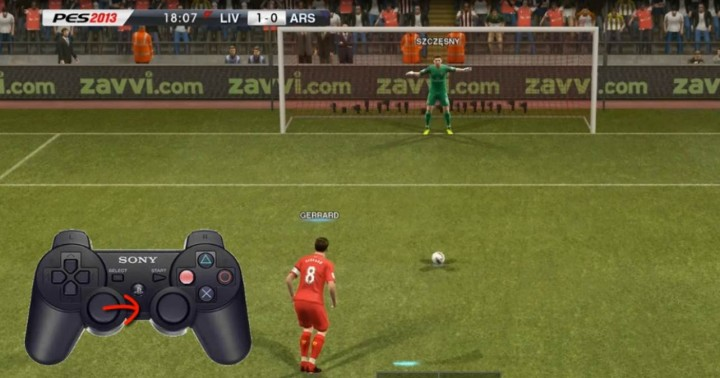 pes 2013 penalty