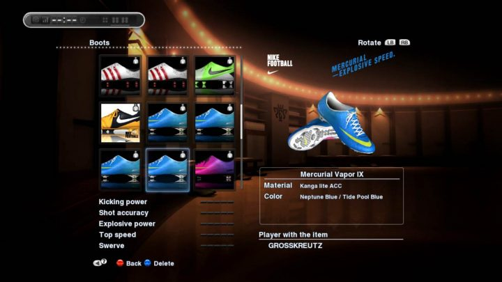 pes master league boots boosting