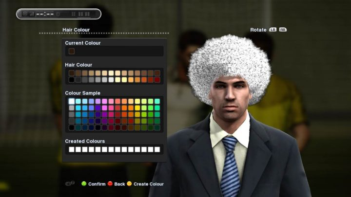 pes manager appearance