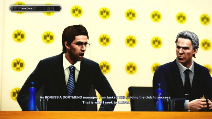 pes press conference