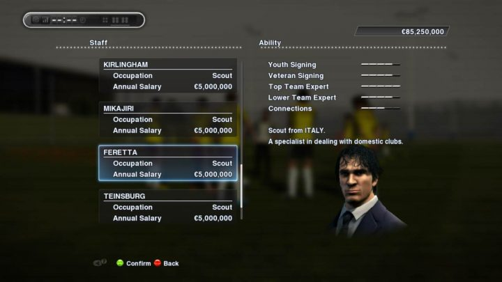 pes 2013 scout