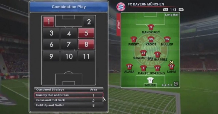 Combination Play PES 2014