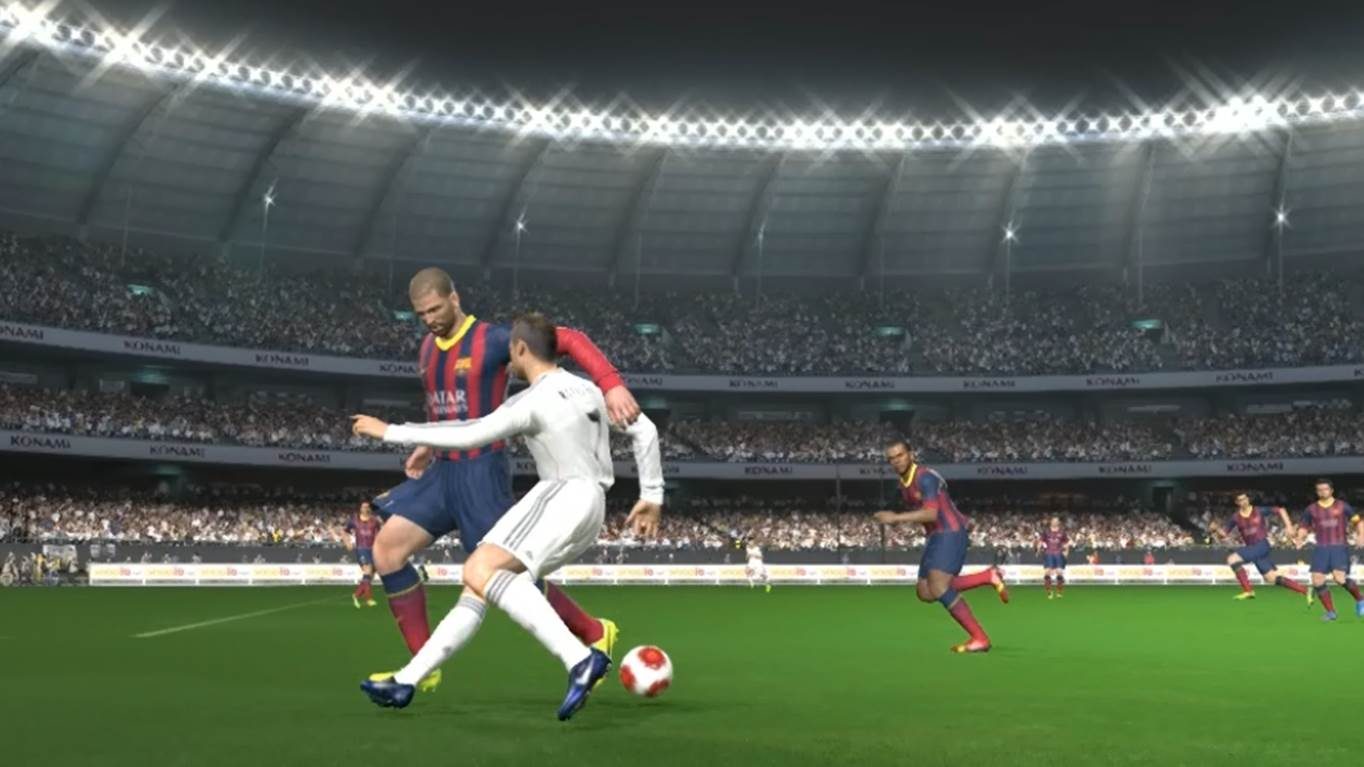 pro evolution soccer 2014 ronaldo chop