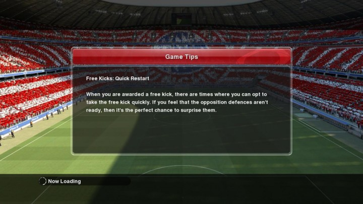 free kicks - quick restart