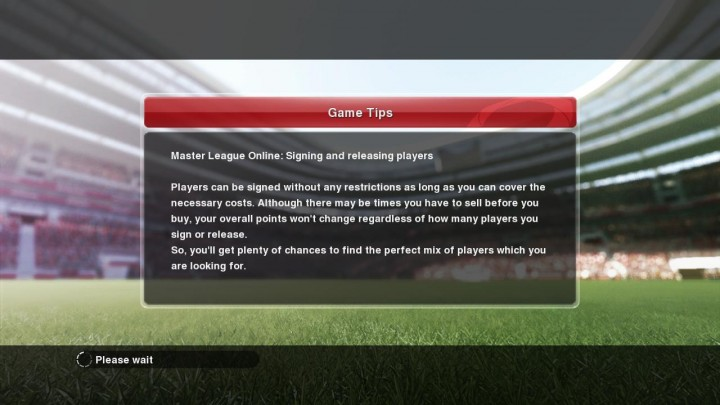 master league online - signing and releasing player