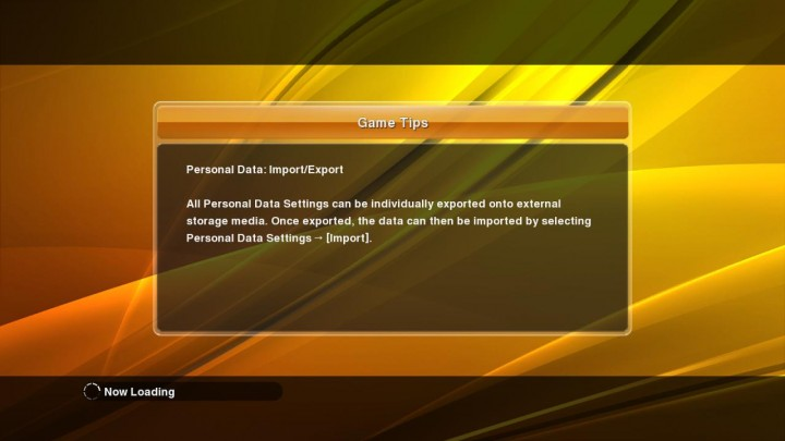 peronal data - import export