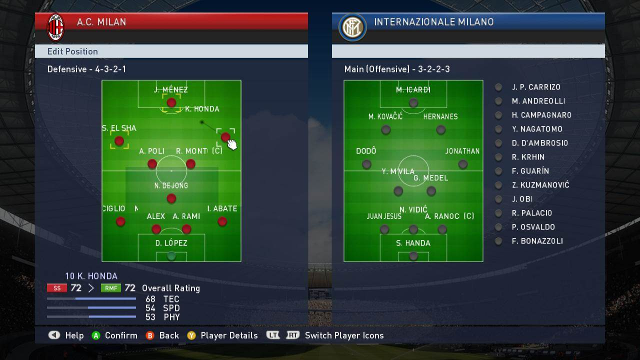 PES Custom Tactical Option