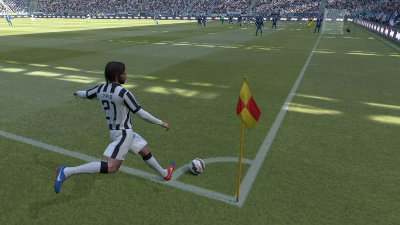 pes corner kick tutorial