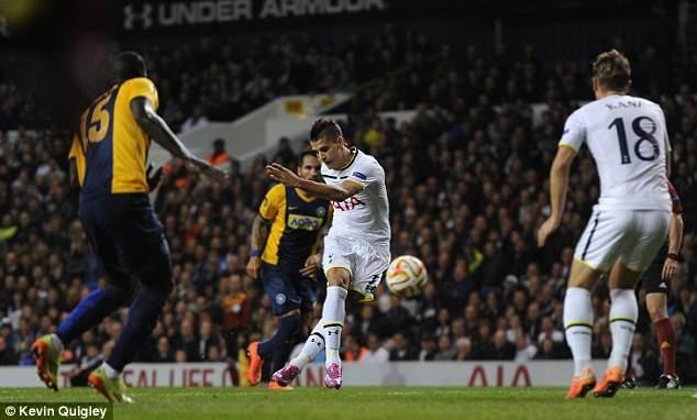 Lamela Rabona Goal