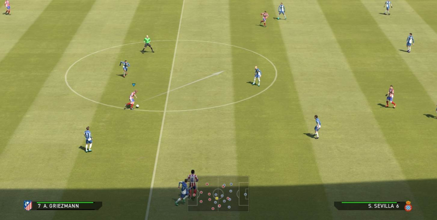 assisted teammate control pes