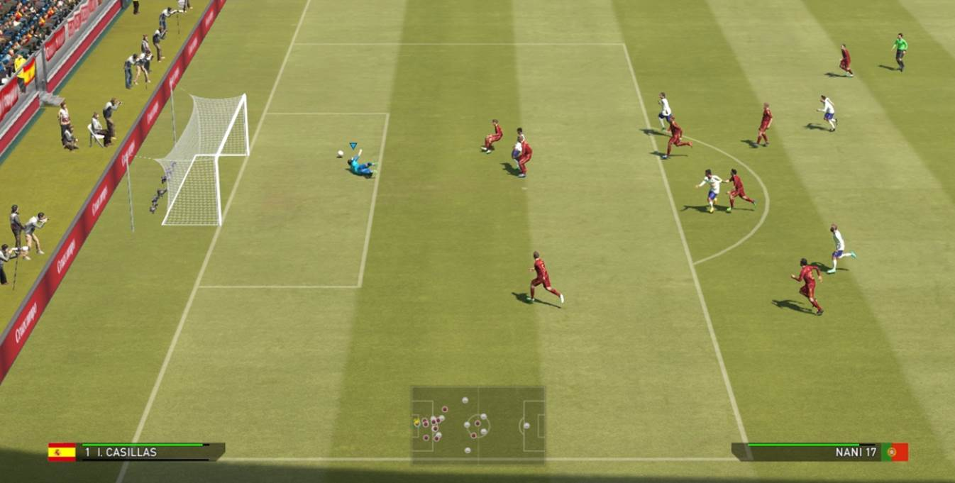 manual goal keeper control save