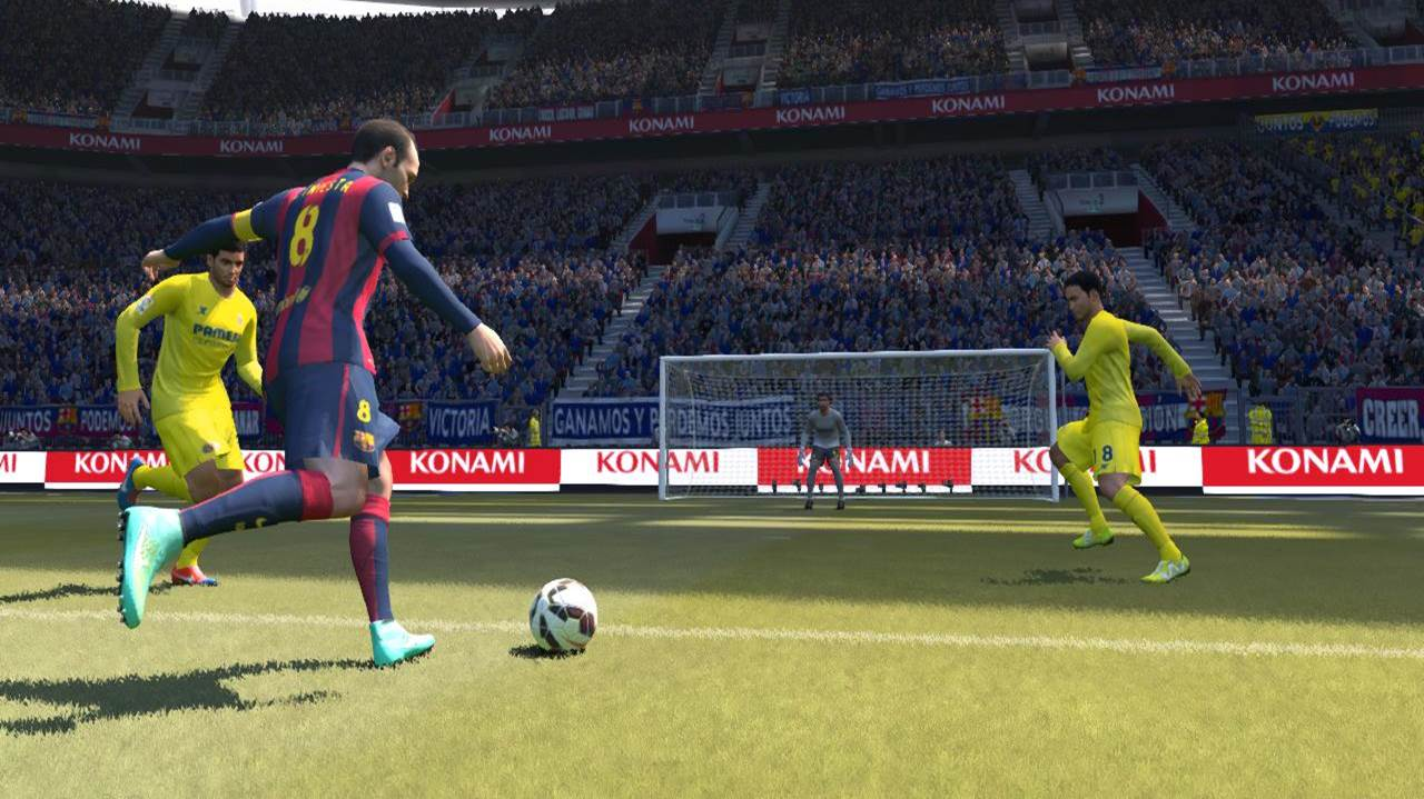 pes right foot iniesta shooting