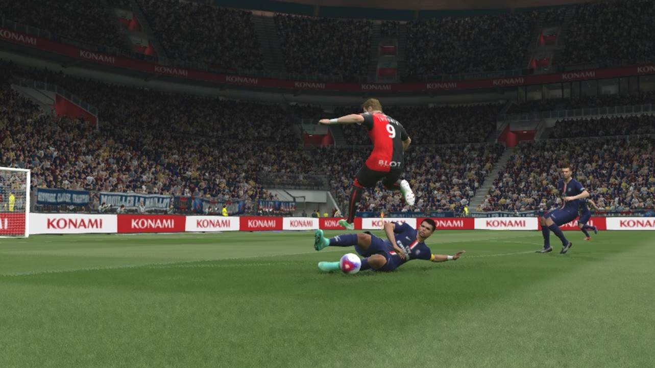 pes slide tackle